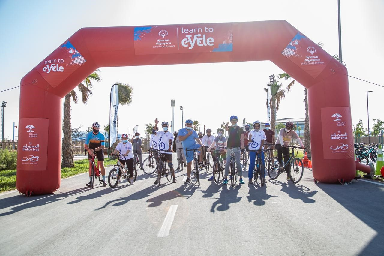 UAE Special Olympics Learn to Cycle Program