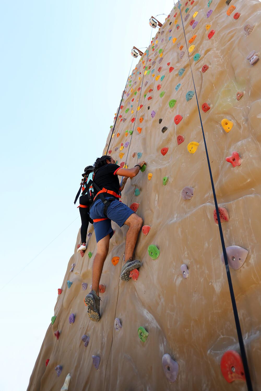 جدار التسلق