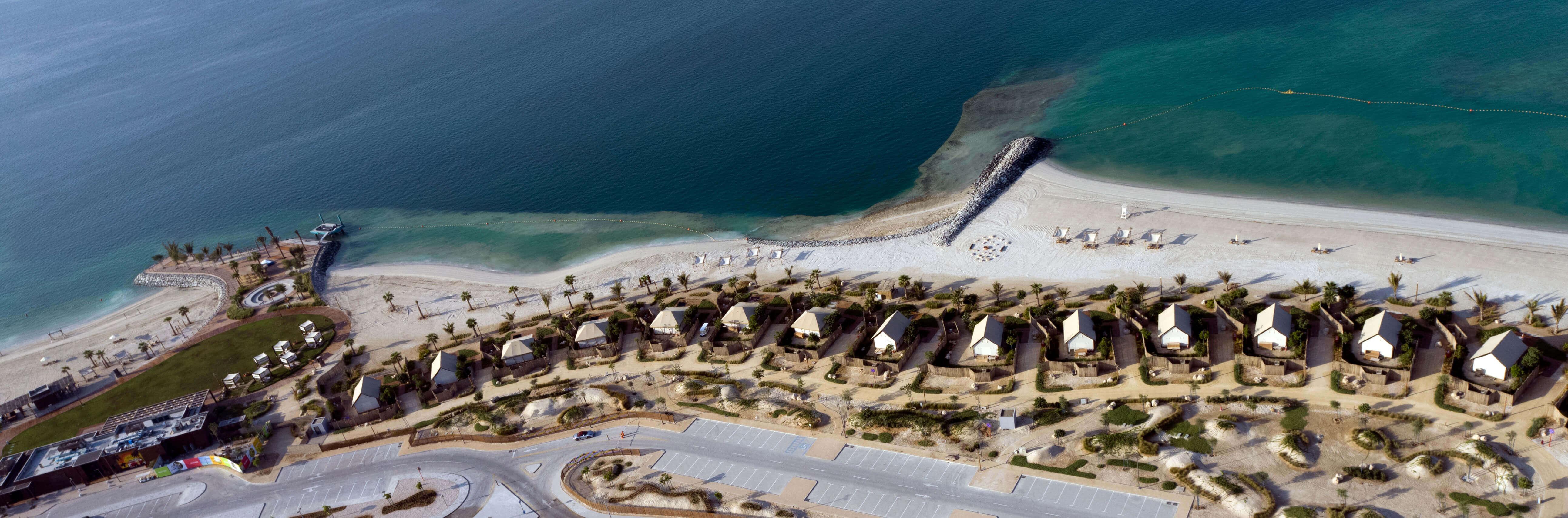 محمد بن زايد يتفقد مشروع الحديريات الترفيهي في أبوظبي ويوجه بافتتاحه الشهر المقبل